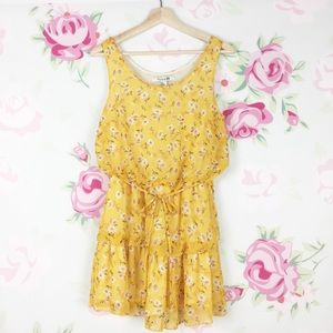 Forever 21 Summer Floral Printed Dress S